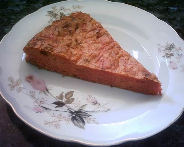 Beet and cabbage pie